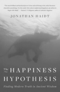 Johnathan Haidt's The Happiness Hypothesis Finding Modern Truth in Ancient Wisdom