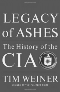Tim Weiner's Legacy of Ashes The History of the CIA