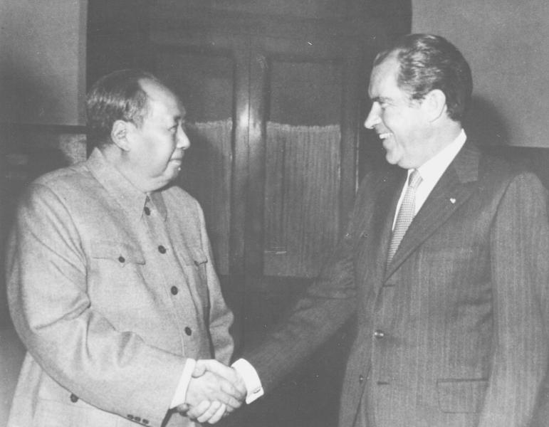 Mao Zedong and Nixon